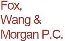 Fox, Wang & Morgan P.C.